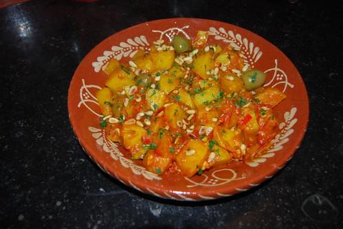 saffraan aardappeltjes