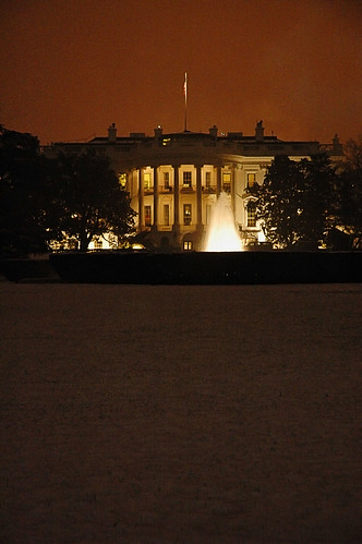 The White House At Night