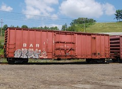 BAR 5989 (trainman308) Tags: railroad train vermont tank railway trains boxcar hopper freight tanker railroads oilcar