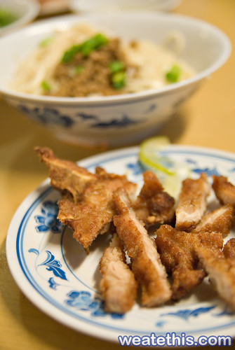 Taiwanese Pork Chop Noodles