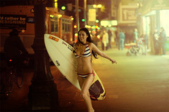 (velvia333) Tags: street city nightphotography portrait urban cinema color sexy girl night canon photo model dof unitedstates bokeh surfer streetphotography 85mm best bikini 5d nightlife shallow 18 cinematography cinematic filmic photoshoproyalty puinsai