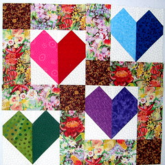 Disappearing 9-Patch with Pieced Blocks.