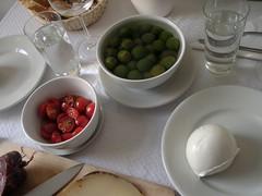 Very Special Sunday lunch (caprilemon) Tags: friends tomato ale napoli greenolives sundaylunch mozzarelladibufala byas