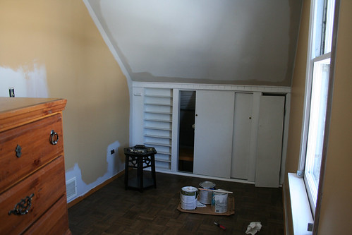 Painting the Guest Room