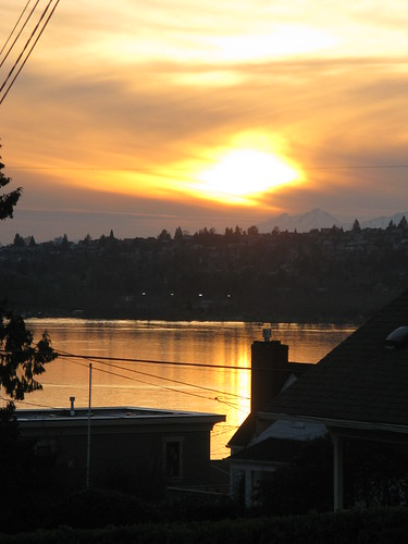 Sunset 2/28/08 Kirkland