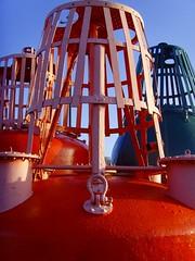 Bhouys 2 (Tony Worrall) Tags: city uk blue red england sky urban green marina docks photo image britain north stock lancashire use preston lancs itsgrimupnorth buoyant bhouy buoyantspotlight prestonian 2011tonyworrall