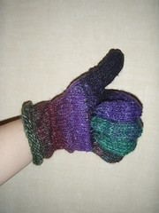Noro Glove, unfinished