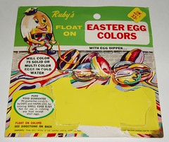 Ruby's Easter Egg coloring kit