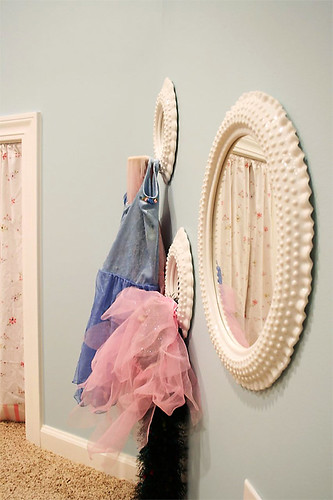 playroom: dress-up wall