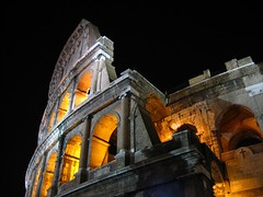 Colosseum at Night II (wenzday01) Tags: travel wallpaper italy rome roma topv111 architecture night canon topv333 europe italia exterior amphitheatre colosseum flavio coliseum 43 lazio colosseo fullscreen anfiteatro flavian flavianamphitheatre canonsd450 sd450 earthnight anfiteatroflavio