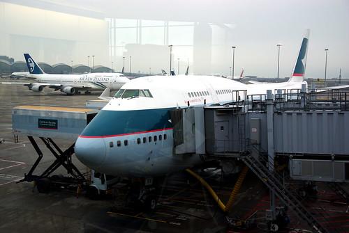 CX450 HKG-TPE (Boeing 747)