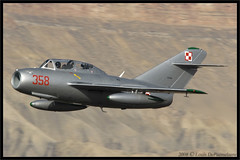 Mikoyan-Gurevich MiG-15 -- MiG Fury Fighters (N515MG) (One Mile High Photography) Tags: airplane airport colorado aircraft aviation sigma planes allrightsreserved 1000views planespotting grandjunctionco nikond200 russianfighter kgjt aviationphotography militaryfighteraircraft coloradophotographer sigmaapo70200mmf28exdghsmmacro adobephotoshopelements50 mikoyangurevichmig15 grandjunctionregionalairport coloradoshooter onemilehighphotography wwwomhphotoscom 2013louisdepaemelaere