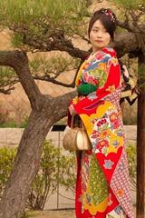Kansai Gaidai graduation ([debug]) Tags: japan graduation   osaka kimono 2008 kansai   gaidai  hirakata