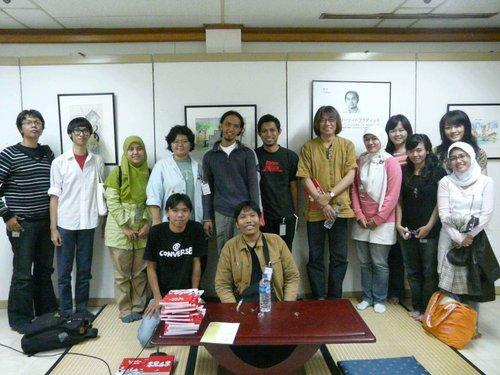 Workshop Kartun dan temu Mangaka