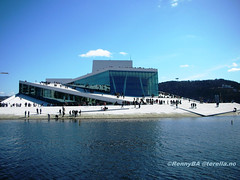 Oslo Opera House #1 (RennyBA) Tags: travel oslo norway norge opera culture tourist architect turist rennyba oslooperahouse visitoslo
