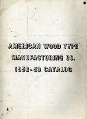 (Depression Press) Tags: foundry vintage typography font type 1958 catalog lettering specimen typeface metaltype manufacturing woodtype depressionpress americanwoodtype
