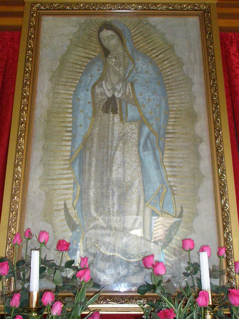 pilgrim image of our lady of guadalupe guadalupe  makati city