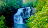 Late Spring at Bald River Falls (Cliff Michaels) Tags: photoshop d50 waterfall nikon tennessee michaels baldriverfalls monroecounty baldriver capturenx tennpenny photoscliff