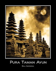 Pura Taman Ayun - Bali (Tim Moffatt) Tags: travel bali sun moon beautiful sepia 510fav indonesia temple asia gallery award best hindu hdr hdri exceptionally beautifulbali exceptionallybeautifulbaligallery