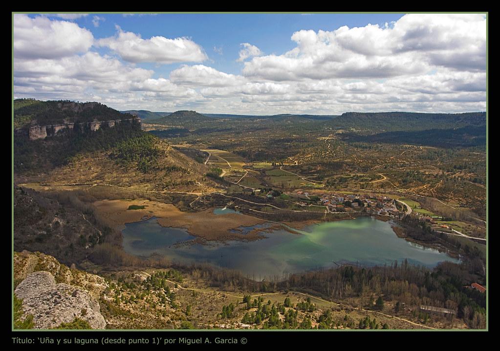 Photo de Castille La Manche n°2. Uña, son lac et ses paysages sauvages