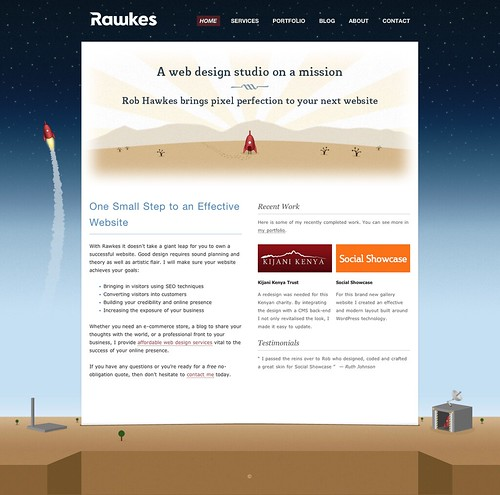 Rawkes: A web design studio on a mission by robhawkes, on Flickr