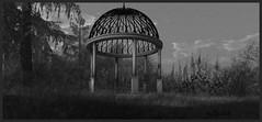 Kiosk Garden... (chanell.resident) Tags: kiosk garden goose cosmopolitan event mesh