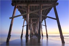 Balboa (www.bc3.photography) Tags: ocean orangecounty newportbeach balboapier balboapenninsula balboa longexposure sunset waves lookup canon seascape sea outdoors sky dslr explore