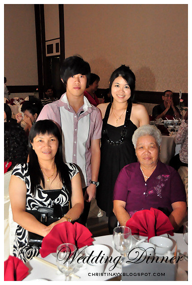Wedding Dinner with Family