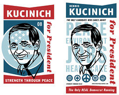 kucinich_posters2 (pjchmiel) Tags: poster design politics hillary hillaryclinton democrat obama johnedwards kucinich denniskucinich barackobama election08