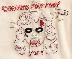 Zombie Jitterbug Girl
