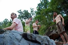 fools (omae) Tags: swim thailand rocks chiangmai gorge brofest obkhan