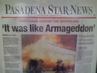 Pasadena Star Headline