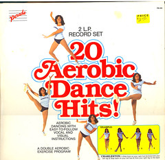20 Aerobic Dance Hits album cover