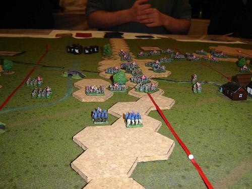 Confederate Positions overlooking Gettysburg