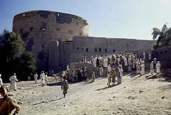 Oman in the seventies (Chris Kutschera) Tags: tower tour oman nizwa sultanate