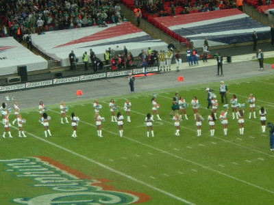 The Dolphins cheerleaders