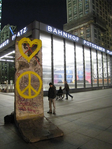 Part of the Berlin Wall, Potsdamer Platz