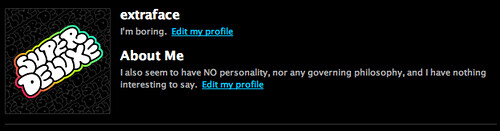 Default Profile Page