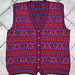 Rosy Outlook Vest by Mary Ann Stephens