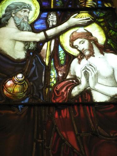 John Baptizes Christ