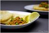 Bhatura (Tasty Palettes) Tags: bread dough cauliflower bhatura kheema