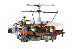 Jonson brothers 30ft commercial fishing vessel (jehkay) Tags: sky boat flying fishing lego skyfi