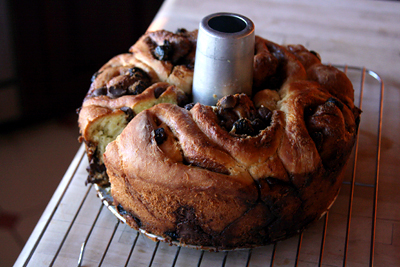Chocolate Cherry Babka