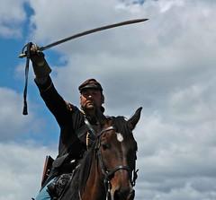 DSC_3599 (janetliz) Tags: horse history civilwar sabre sword milton charge reenactment cavalry countryheritagepark