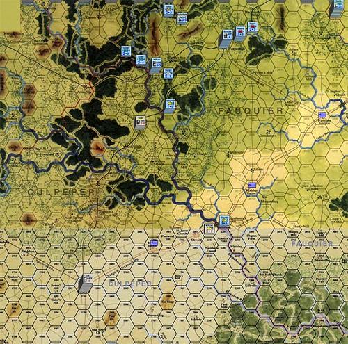 Burnside Takes Command - Scenario 1 starts