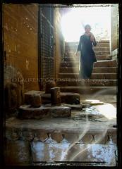 In a route of evanescence (designldg) Tags: people woman india dream varanasi shanti breathtaking 2b ghats benaras uttarpradesh भारत indiasong openma