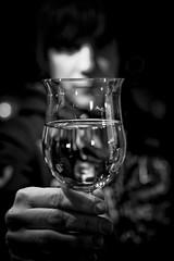 Day 262/365 (martianmermaid) Tags: selfportrait reflection me blackwhite 2470mml wineglass canonef2470mmf28lusm narcissim stemware pinotgrigio day262 365days