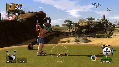 Hot Shots Golf Advanced Shot Mode 3