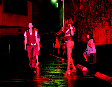 Maroon 5 Video Shoot / I'm not a hooker, I just play one on MTV