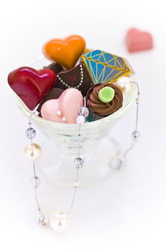 Bijoux de chocolat